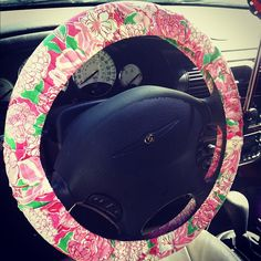 BIRTHDAY GIFT PUHLEASE I mean, I could use a Lilly steering wheel cover.