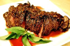 Grilled Tri-Tip Steak with Molasses Chili Marinade
