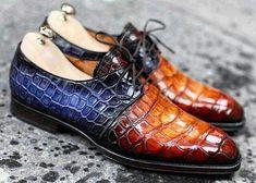 Alligator shoes for men