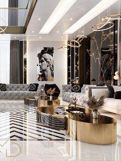 Mansion Interior, Luxury Homes Interior, Apartment Interior Design, Luxury Home Decor, Classic Living Room, Living Room Modern, Turquoise Room, Luxury Dining Room, Home Room Design