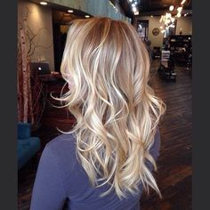 balayage blonde-love it