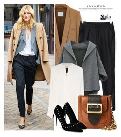 """""""She5"""" by deeyanago ❤ liked on Polyvore featuring Derek Lam, Burberry and Sheinside"""