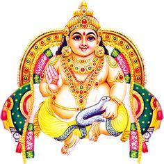 Kubera - God of wealth and the Gods' treasurer