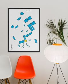 Poster by Kokoro & Moi for architecture and construction business Poseidon Helsinki