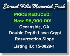 Buy Sell Plots Burial Spaces Cemetery Property for Sale Oceanside California