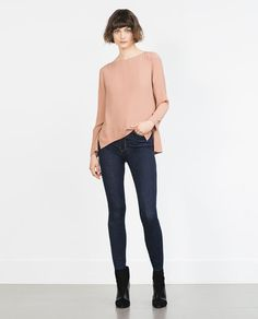 ZARA - COLLECTION SS16 - BOAT NECK BLOUSE