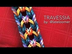 TRAVESSIA Hook Only bracelet tutorial - YouTube