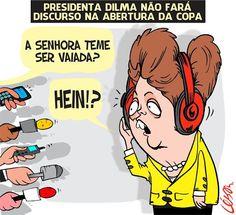 Para evitar novas vaias, Fifa cancela discurso de Dilma