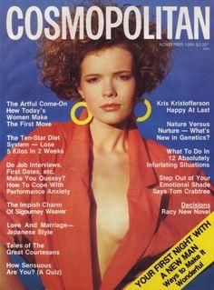 Cosmopolitan 1984 SIGOURNEY WEAVER Danny Roberts KRIS KRISTOFFERSON Ghostbusters   eBay