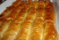 Milk thistle - The traditional recipe Foodmaniacs - Sweets - Greek Recipes - Greek Recipes - Greek Sweets, Greek Desserts, Greek Recipes, Galaktoboureko Recipe, Puff Pastry Desserts, Best Sweets, Greek Cooking, Delicious Deserts, International Recipes