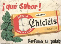 Chicles. Argentina