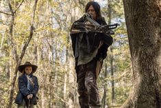 Daryl Dixon and Judith will bond over killing walkers in the next episode of 'The Walking Dead.' SPOILER ALERT: This article discusses Season 10 of AMC's The Walking Dead. Walking Dead Returns, Walking Dead Season, Fear The Walking Dead, Walking Dead Comic Book, Walking Dead Characters, Judith Grimes, Rick Grimes, Kit Harington, Entertainment Weekly