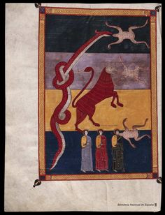 Beato de Liébana. Beato de Liébana , Santo — Manuscrito — 1047  441