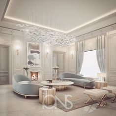 Lounge design • Private Palace • Abu Dhabi • #الدوحه #doha #qatar