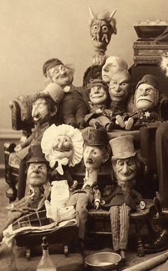 Puppets. Gus White