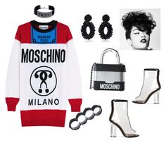 #321 by missactive-xtraordinary on Polyvore featuring polyvore, fashion, style, Moschino, Bibi Marini, Dsquared2, DANNIJO