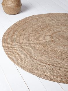 TAPIS EN JUTE NATUREL