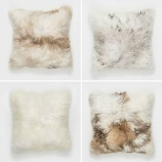 T.D.C | Kanuka Collective | Alapaca Fur Cushions