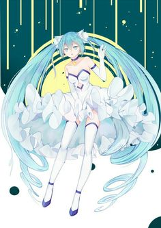 She has cat eyes! Hatsune Miku, Kaito, Anime Blue Hair, Avatar, Otaku, Miku Chan, Mikuo, Kawaii Anime Girl, Manga Illustration