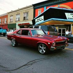 Great car. A Chevy Nova was used in the 2016 Mel Gibson movie Bllood Father. Great sound!