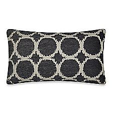 image of Circles Throw Pillow in Pewter