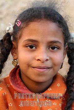 Africa: Siwan berber girl, Egypt