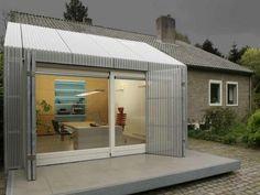 Rebuilt Garage in the Netherlands.