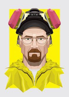 Walter White Lab Gear As faces de Heisenberg