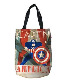 Look what I found on #zulily! Captain America Deco-dant Sublimated Shopper Tote #zulilyfinds