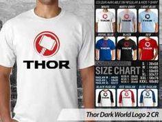 Kaos Thor Dark World Couple Family, Kaos Thor Dark World Anak-anak, Kaos Couple Family Thor Marvel, Kaos Marvel Heroes Thor Dark World