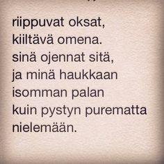 päivän runo 11.9.2014 www.taideonikuistaa.blogspot.fi