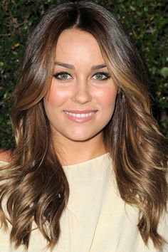 Lauren Conrad, light brown hair, CoverGirl 50th Anniversary Party, 2011