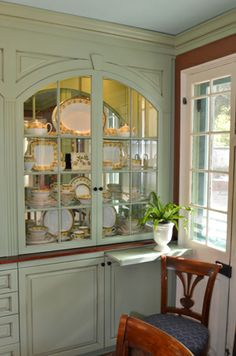 Custom cypress library for southern living magazine by for Roman pantry