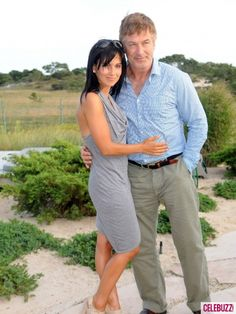 #Charity - Alec Baldwin and wife Hilaria Thomas Baldwin at the  #Research Without Cruelty, a benefit for the #Physicians Committee for Responsible Medicine held at a private residence in Amagansett, New York on August 25, 2012