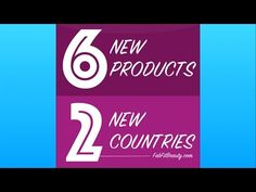 Younique: 6 New Products And 2 New Countries Just Announced! Younique Germany and Younique Mexico are launching in 2015.
