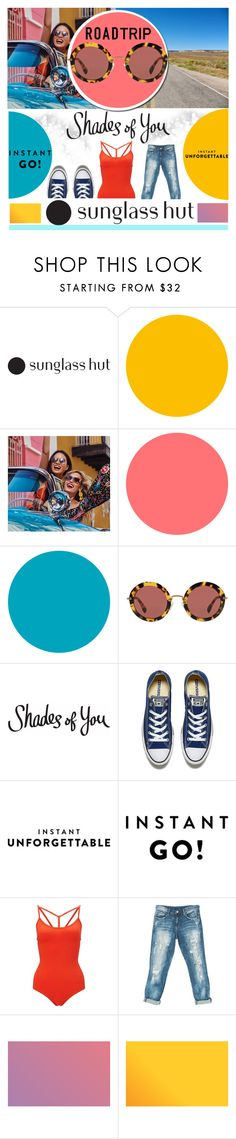 """""""Shades of You: Sunglass Hut Contest Entry"""" by piedraandjesus ❤ liked on Polyvore featuring Miu Miu, Converse, Miss Selfridge, Sans Souci and shadesofyou"""