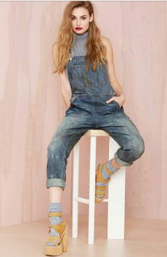 1e3585609530 Nasty Gal Denim - The Over It Overalls - Rompers + Jumpsuits