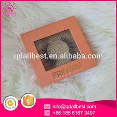 Custom False Eyelash Packaging Private Label Eyelash Box