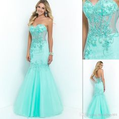 2016 Elegant Mint Green Prom Dresses Lace And Tulle Mermaid Sweetheart Custom Made Long Evening Party Gowns Abendkleider New Appliques Short Yellow Prom Dresses Stores With Prom Dresses From Bridalbuy001, $98.93| Dhgate.Com