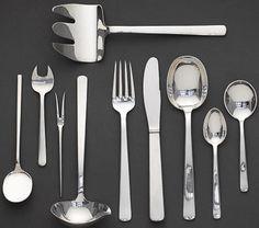 Kay Bojesen Grand Prix cutlery, silver