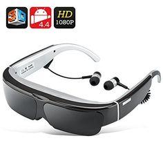 Android 4.4 Virtual Gafas de video - 2D / 3D + 1080p, Soporte, CPU de doble núcleo, 16: 9 Relación de aspecto, 8 GB de capacidad (Negro) , http://www.amazon.es/dp/B00TQOZY8Y/ref=cm_sw_r_pi_dp_1hDpvb1N8FETZ