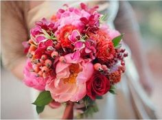 summer wedding bouqu