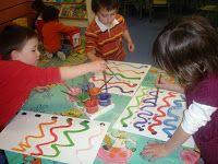 GRAFISME I CREATIVITAT Craft Activities For Kids, Writing Activities, Prewriting Skills, Architectural Signage, Grande Section, Pre Writing, Art Plastique, Fine Motor Skills, Pre School
