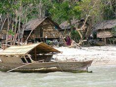 Sea gypsy boat - Andaman Sea