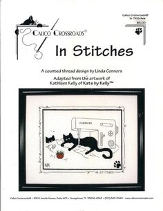 Kats By Kelly In Stitches