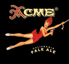 Acme Beer, one of the best IPA's I've had!