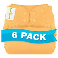 bumGenius Elemental Organic All-in-One One Size Diaper 6-pack