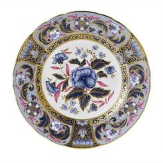 Royal Crown Derby Blue Camellias | Royal Crown Derby | China | Tabletop | ScullyandScully.com