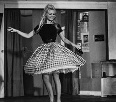 Brigitte Bardot  This style will always be flattering!