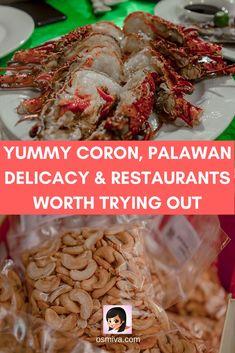 Yummy Coron, Palawan Delicacy & Restaurants Worth Trying Out #coronpalawan #palawanphilippines #corondelicacies #coronpalawanrestaurants #foodtravel #osmiva